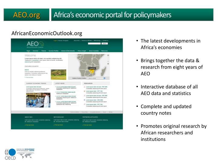 Africa's economic portal for policymakers