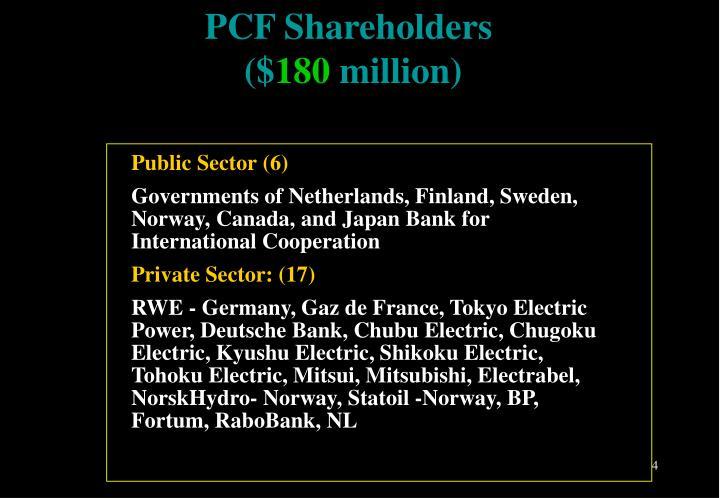 PCF Shareholders