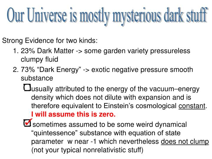 Strong Evidence for two kinds: