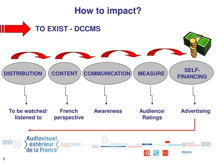 How to impact?