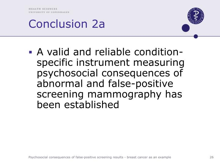 Conclusion 2a