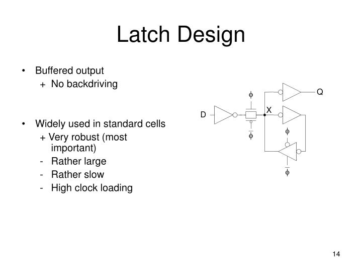 Latch Design