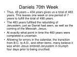 daniels 70th week17
