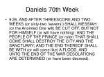 daniels 70th week18