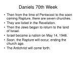 daniels 70th week26