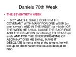 daniels 70th week28