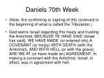 daniels 70th week31