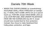 daniels 70th week32