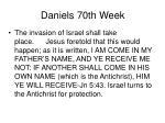 daniels 70th week35