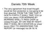 daniels 70th week37