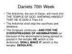 daniels 70th week43