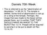 daniels 70th week44