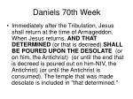 daniels 70th week46