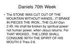 daniels 70th week48