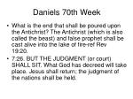 daniels 70th week49