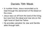 daniels 70th week5