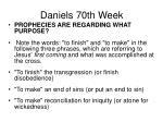 daniels 70th week54