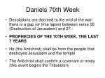 daniels 70th week59