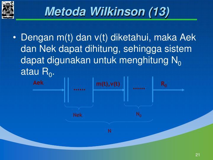 Metoda Wilkinson (13)