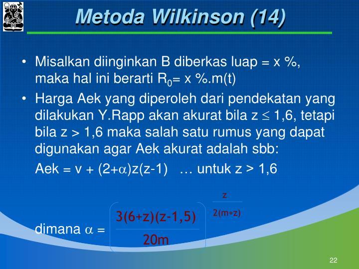 Metoda Wilkinson (14)