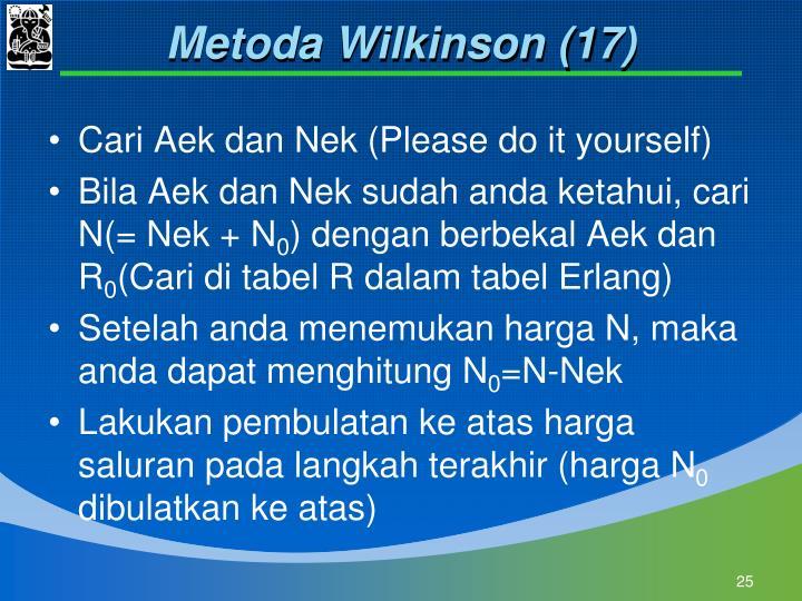 Metoda Wilkinson (17)