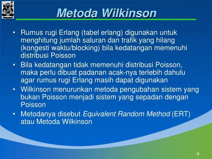 Metoda Wilkinson