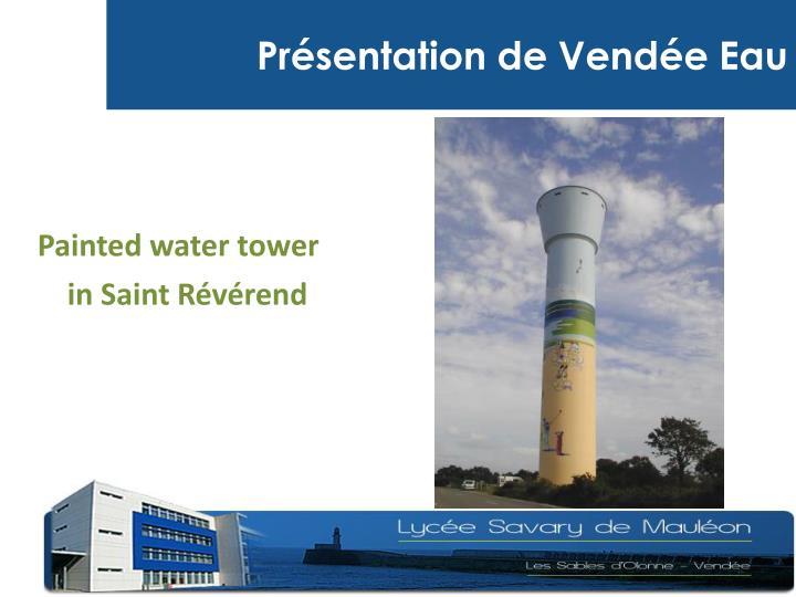 Présentation de Vendée Eau