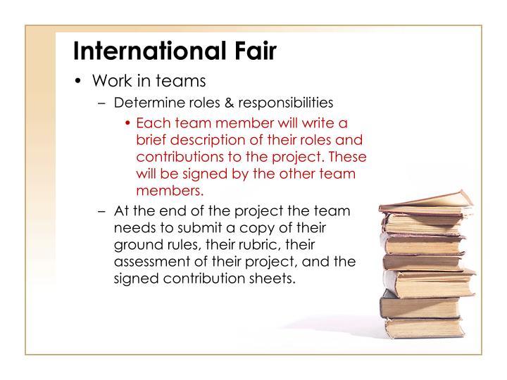 International Fair