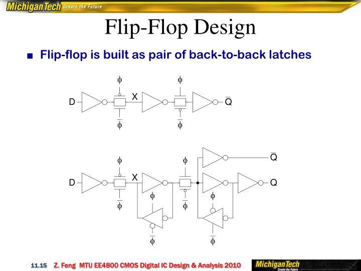 Flip-Flop Design