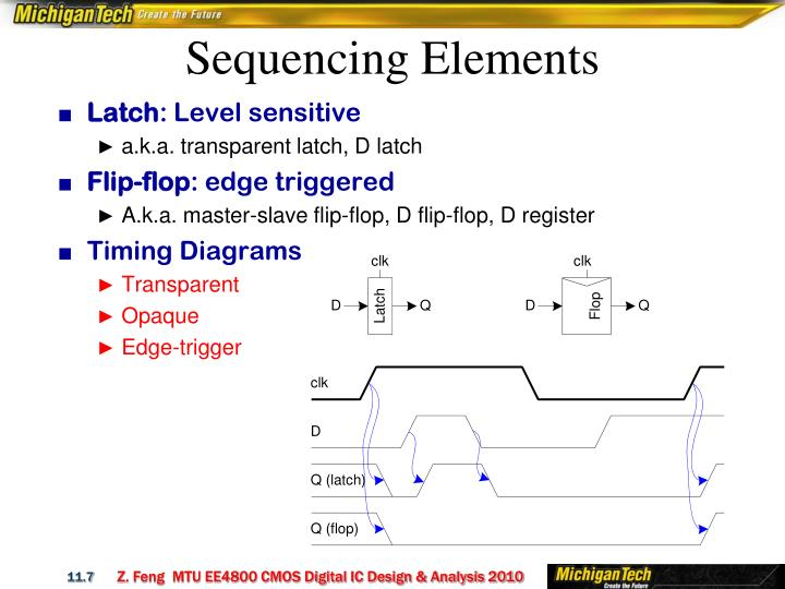 Sequencing Elements