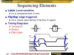 sequencing elements1