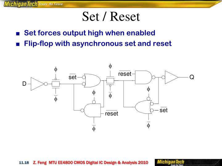 Set / Reset