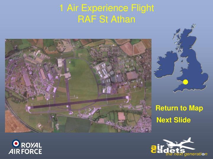 1 Air Experience Flight