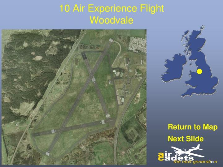 10 Air Experience Flight