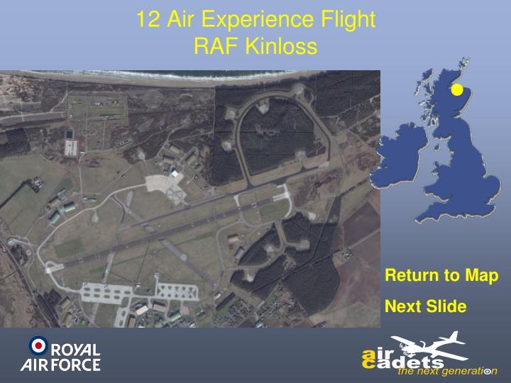 12 Air Experience Flight