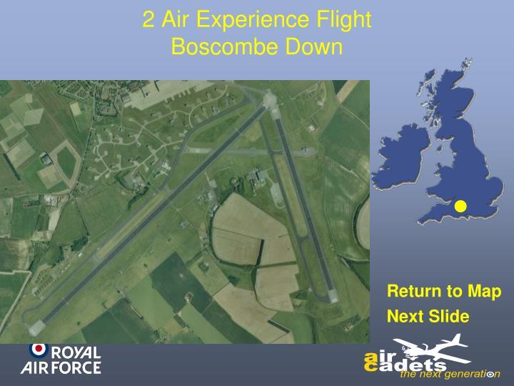 2 Air Experience Flight