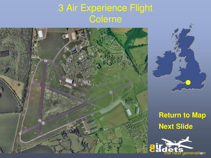 3 Air Experience Flight