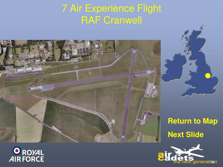 7 Air Experience Flight
