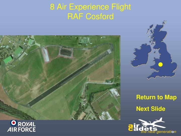 8 Air Experience Flight