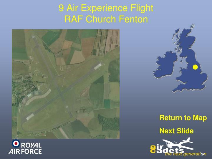 9 Air Experience Flight