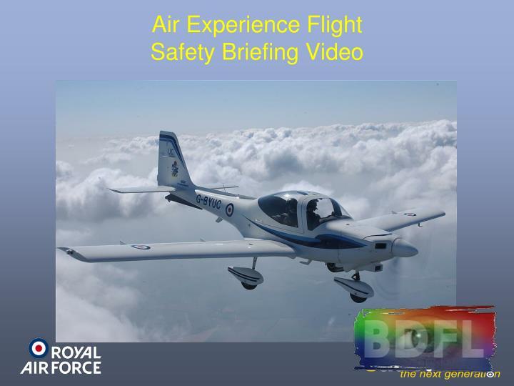 Air Experience Flight