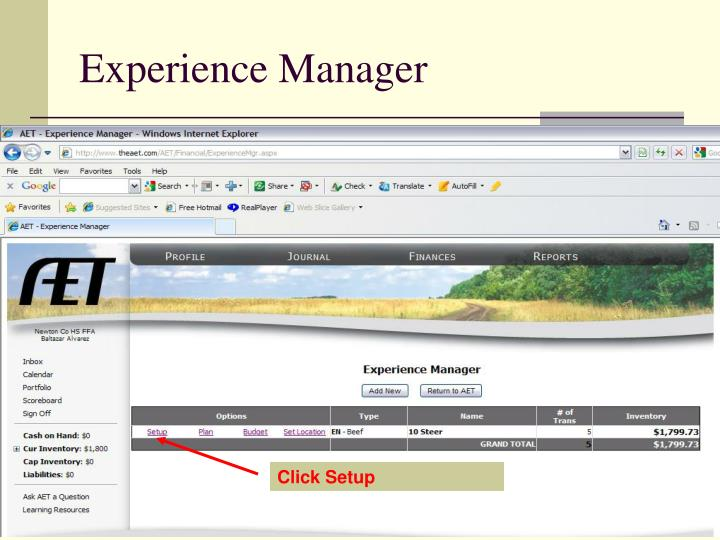 Experience Manager