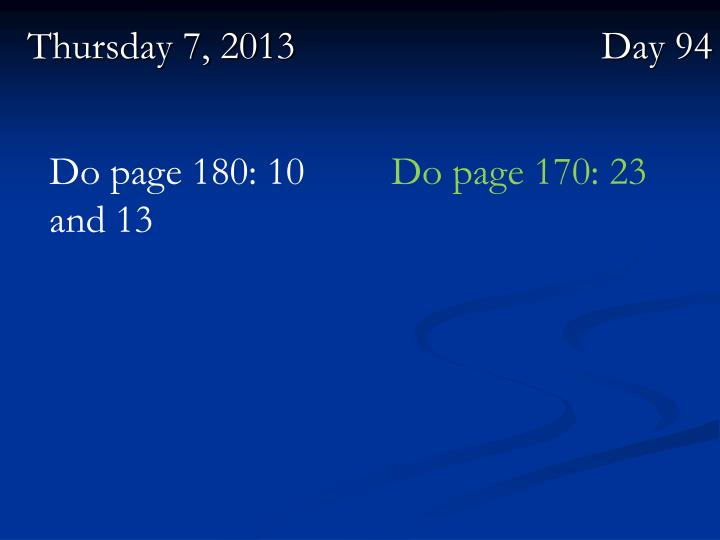 Do page 180: 10 and 13
