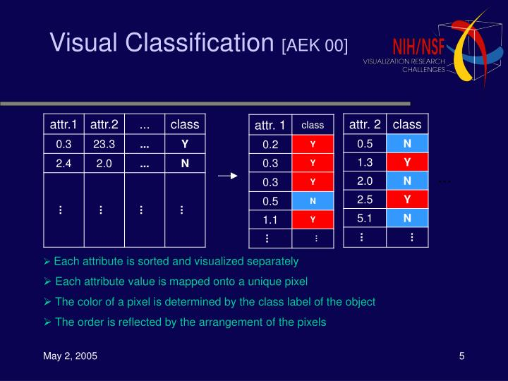 Visual Classification