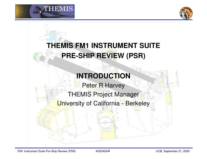 THEMIS FM1 INSTRUMENT SUITE
