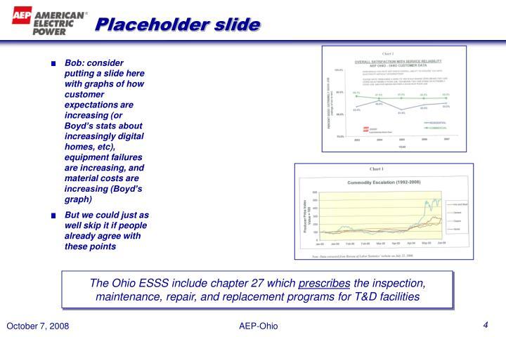 Placeholder slide