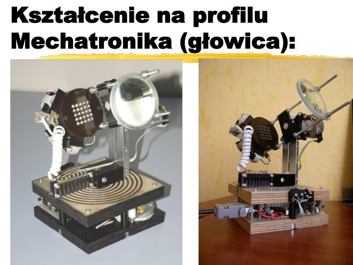 Kształcenie na profilu Mechatronika (głowica):