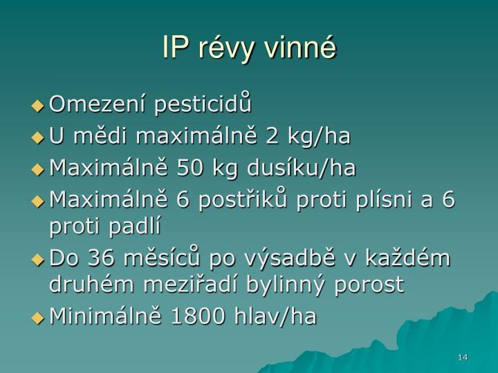 IP révy vinné
