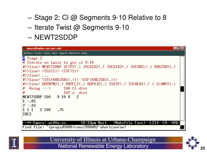 Stage 2: Cl @ Segments 9-10 Relative to 8