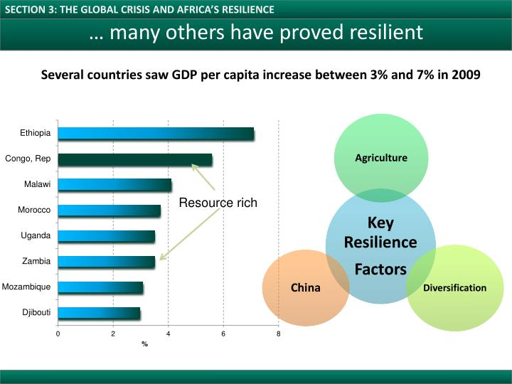 SECTION 3: THE GLOBAL CRISIS AND AFRICA'S RESILIENCE